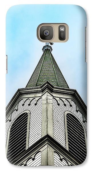 Galaxy Case featuring the photograph The Steeple by Onyonet  Photo Studios