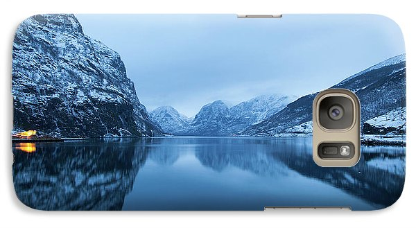 Galaxy Case featuring the photograph The Stillness Of The Sea by David Chandler