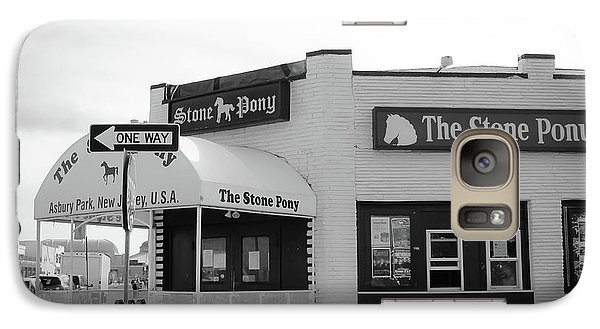 Galaxy Case featuring the photograph The Stone Pony - One Way by Colleen Kammerer
