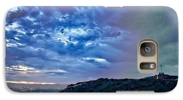 Galaxy Case featuring the photograph The Storm And The Light by Jeremy McKay