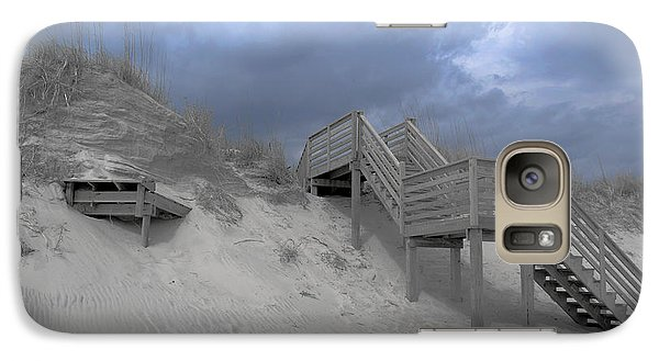 Galaxy Case featuring the photograph The Storm Is Here by Linda Mesibov