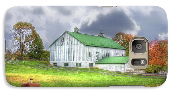Galaxy Case featuring the digital art The Storms Coming by Sharon Batdorf