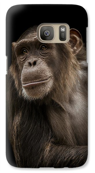 Ape Galaxy S7 Case - The Storyteller by Paul Neville