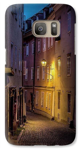 Galaxy Case featuring the photograph The Streets Of Salzburg by David Morefield