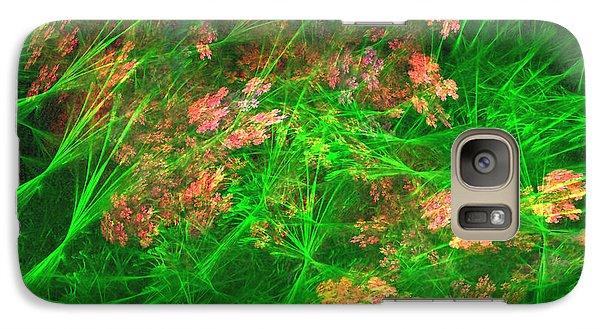 Galaxy Case featuring the digital art The Struggle by Richard Ortolano