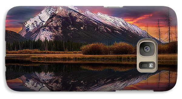Galaxy Case featuring the photograph The Sun Also Rises by John Poon