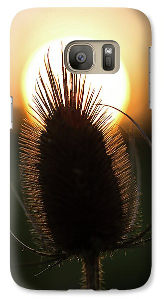 Galaxy Case featuring the photograph The Sun Sets Upon Summer by Dale Kincaid