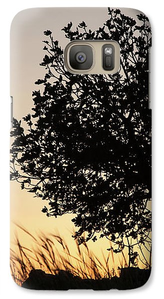 Galaxy Case featuring the photograph Sunset On The Hill by Yoel Koskas