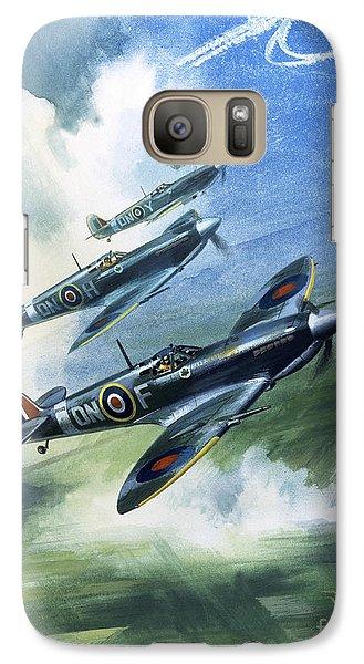The Supermarine Spitfire Mark Ix Galaxy S7 Case