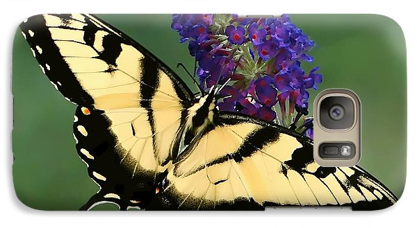Galaxy Case featuring the photograph The Swallowtail by Sue Melvin