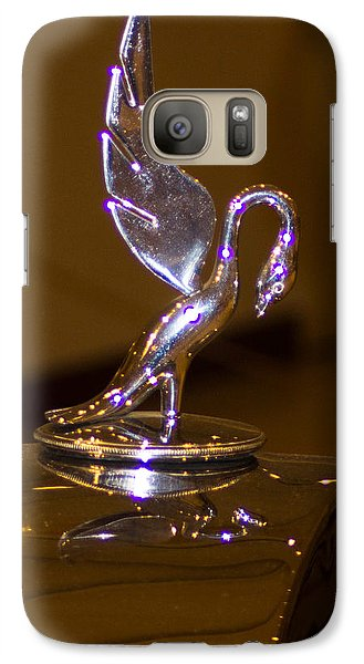 Galaxy Case featuring the photograph The Swan by Dick Botkin