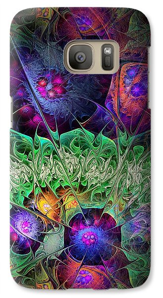 Galaxy Case featuring the digital art The Taiga by NirvanaBlues