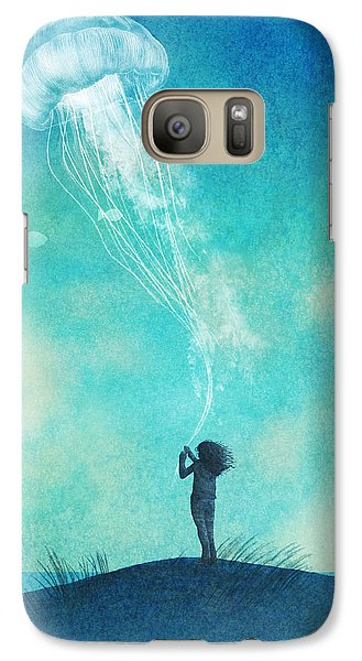 The Thing About Jellyfish Galaxy S7 Case by Eric Fan