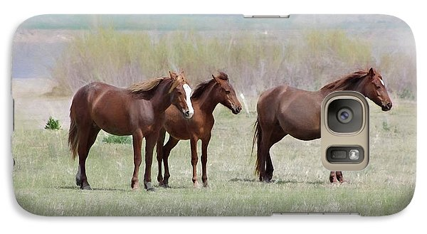 Galaxy Case featuring the photograph The Three Amigos by Benanne Stiens