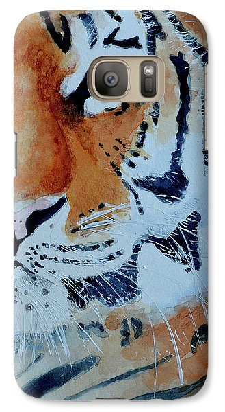 Galaxy Case featuring the painting The Tiger by Steven Ponsford