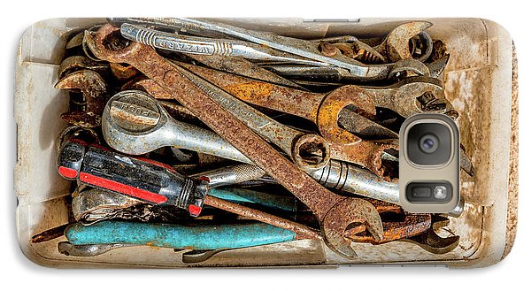 Galaxy Case featuring the photograph The Toolbox by Christopher Holmes