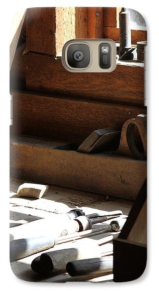 Galaxy Case featuring the photograph The Tools by Laddie Halupa
