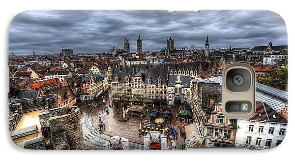 Galaxy Case featuring the photograph The Top Of Ghent by Shawn Everhart