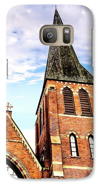 Galaxy Case featuring the photograph The Tower by Onyonet  Photo Studios