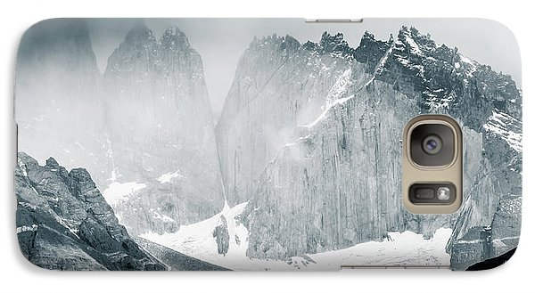 Galaxy Case featuring the photograph The Towers by Andrew Matwijec