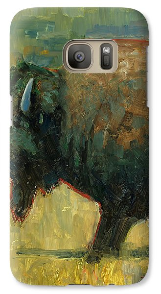 Galaxy Case featuring the painting The Traveler by Billie Colson