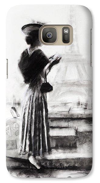 Eiffel Tower Galaxy S7 Case - The Traveler by Steve Henderson