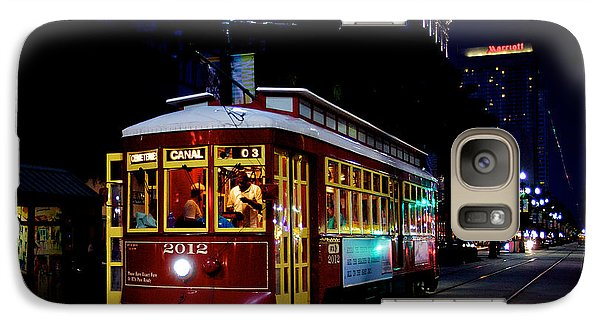 Galaxy Case featuring the photograph The Trolley by Evgeny Vasenev