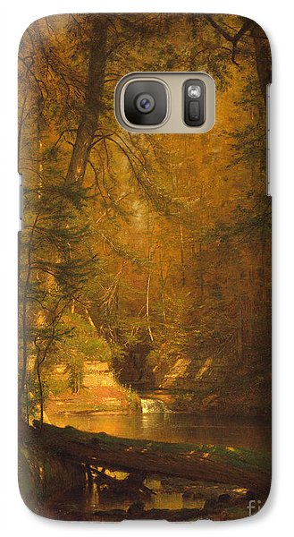 Galaxy Case featuring the photograph The Trout Pool by John Stephens