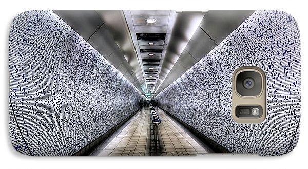 London Tube Galaxy S7 Case - The Tube by Evelina Kremsdorf