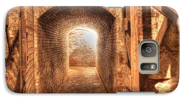Galaxy Case featuring the photograph The Tunnel by David Bishop