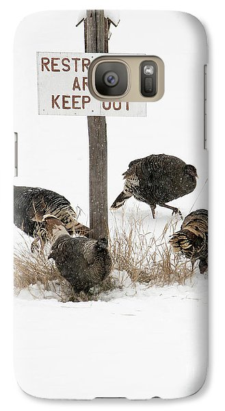 The Turkey Patrol Galaxy S7 Case