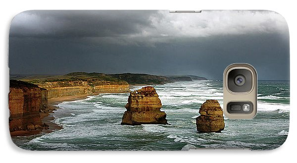 Galaxy Case featuring the photograph The Twelve Apostles by Marion Cullen