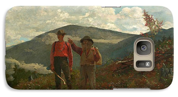 Galaxy Case featuring the painting The Two Guides by Winslow Homer