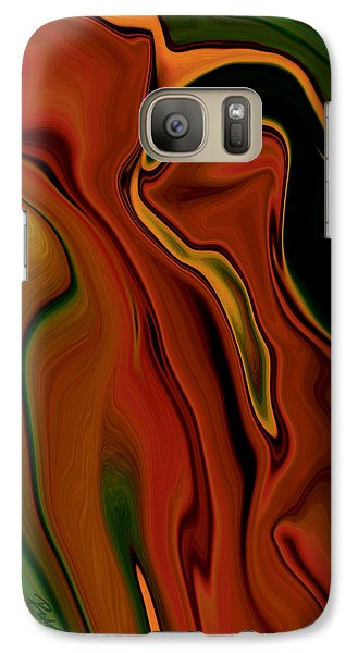 Galaxy Case featuring the digital art The Two by Rabi Khan