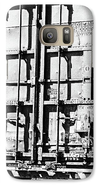 Galaxy Case featuring the photograph The Unexpected Complication Of Doors by Wendy J St Christopher