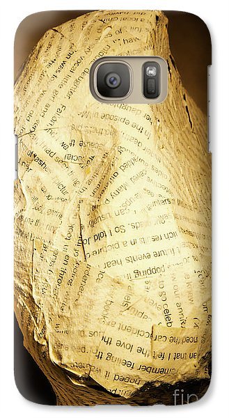 The Unfinished Story Galaxy Case by Jorgo Photography - Wall Art Gallery