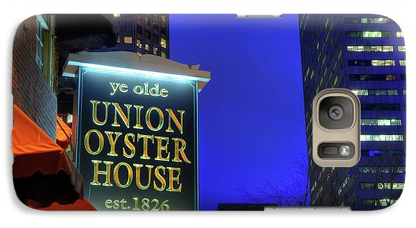 Galaxy Case featuring the photograph The Union Oyster House - Boston by Joann Vitali