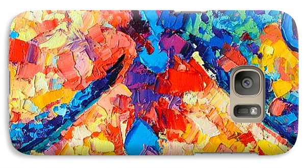 Galaxy Case featuring the painting The Unknown by Ana Maria Edulescu
