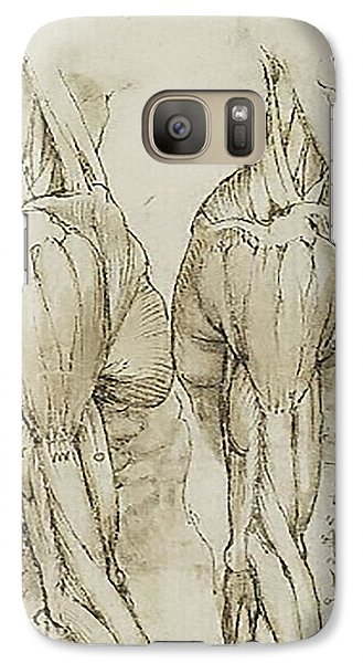 Galaxy Case featuring the painting The Upper Arm Muscles by James Christopher Hill