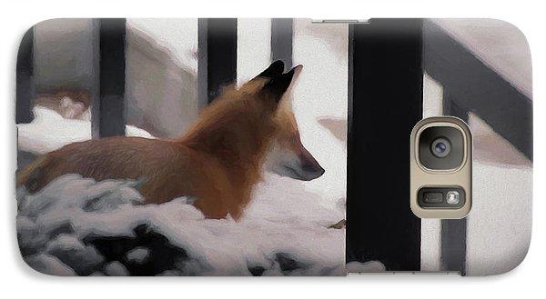 Galaxy Case featuring the digital art The Urban Fox by Ernie Echols
