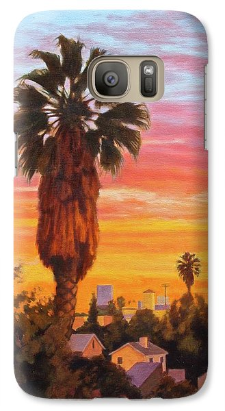 Galaxy Case featuring the painting The Urban Jungle by Andrew Danielsen