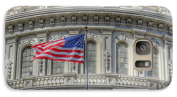Capitol Building Galaxy S7 Case - The Us Capitol Building - Washington D.c. by Marianna Mills