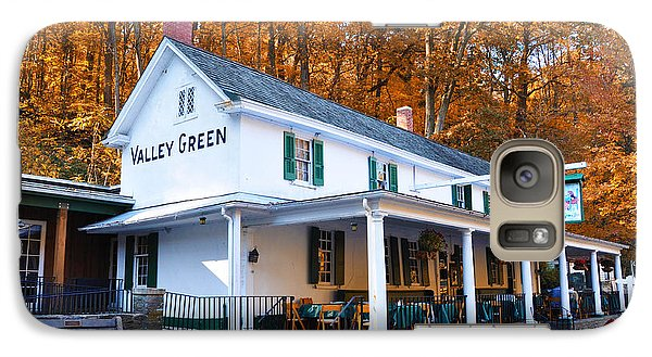 The Valley Green Inn In Autumn Galaxy S7 Case
