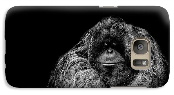 Orangutan Galaxy S7 Case - The Vigilante by Paul Neville