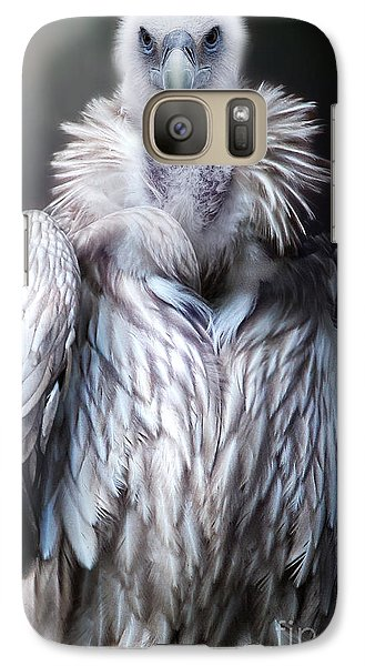 Galaxy Case featuring the photograph The Vulture by Christine Sponchia