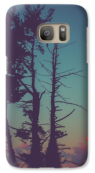 Vulture Galaxy S7 Case - The Vulture by Shane Holsclaw