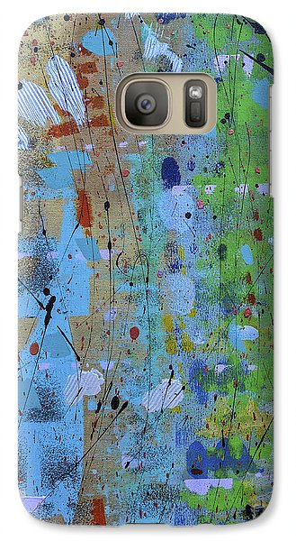 Galaxy Case featuring the painting The Wandering Thought by Theresa Kennedy DuPay