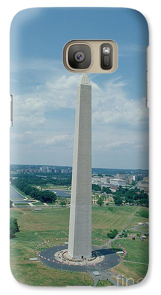 The Washington Monument Galaxy S7 Case by American School