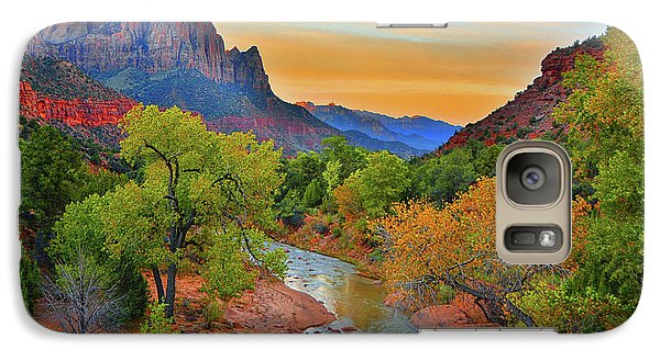 The Watchman And The Virgin River Galaxy S7 Case