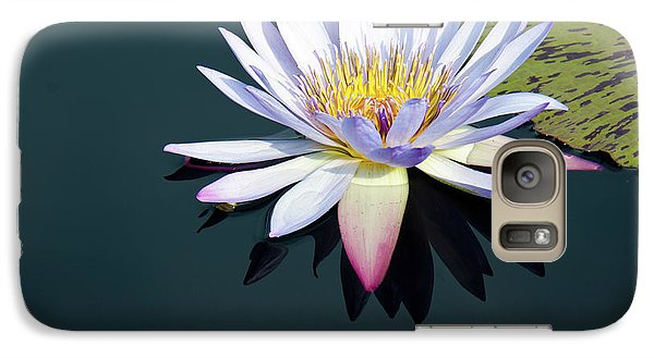 Galaxy Case featuring the photograph The Water Lily by David Sutton